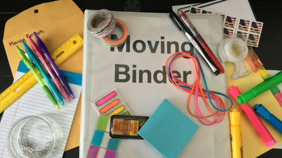 7 Crucial Items Needed for Your Moving Binder
