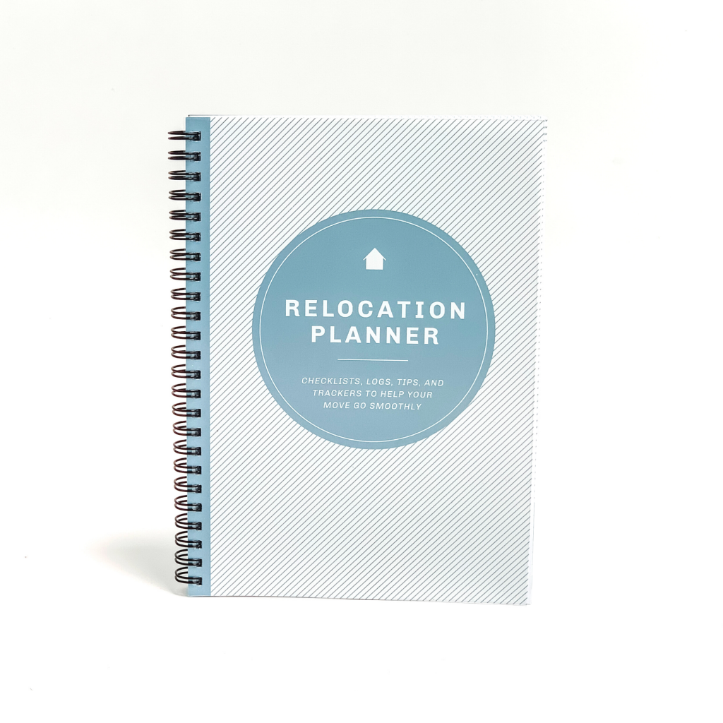Relocation Planner with white background