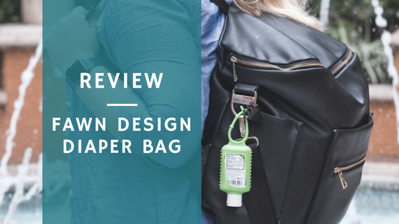 Review:  Fawn Diaper Bag