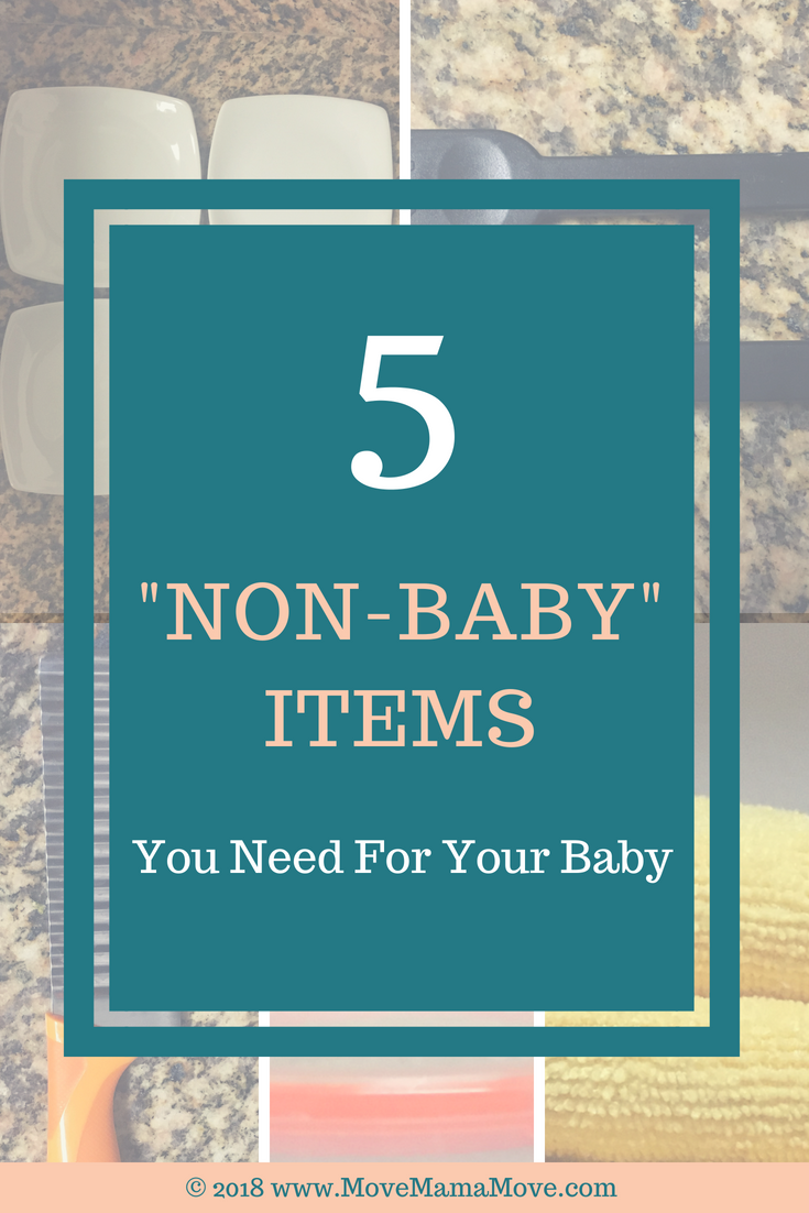 5 Non-Baby Items for Baby
