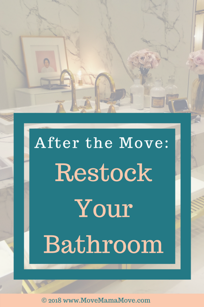 Restock Bathroom