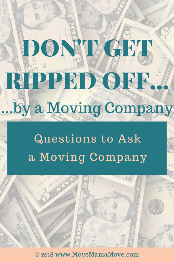 How to Not Get Ripped off By a Moving Company