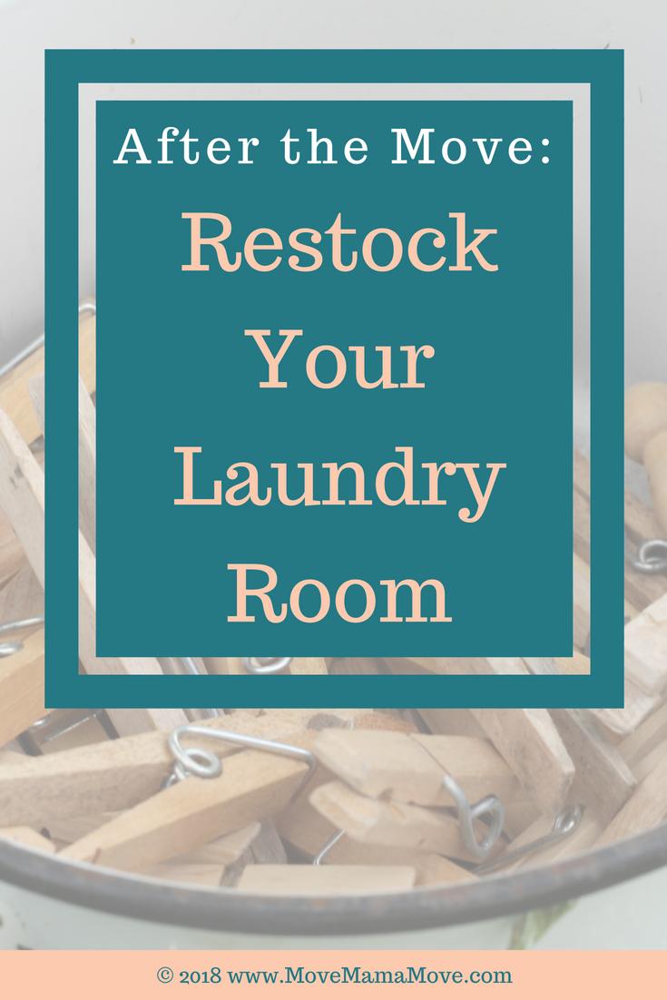 Restock Laundry Room
