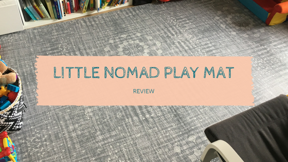 Review:  Little Nomad Play Mat