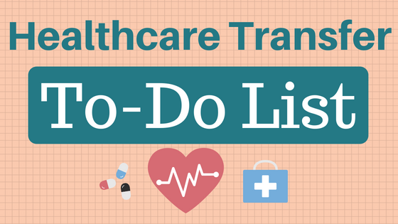 Healthcare Transfer To-Do List