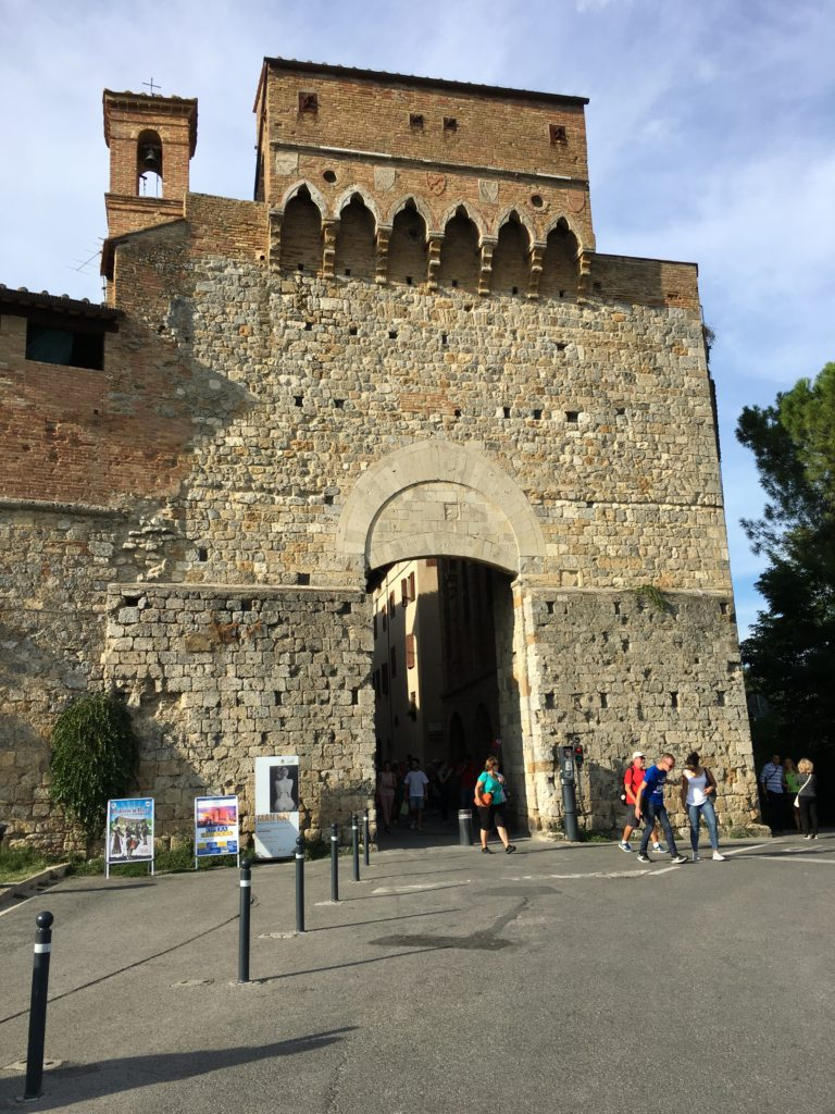 San Gimignano Entrance
