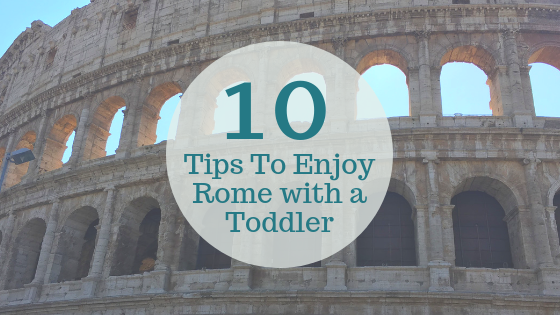 Rome with a Toddler blog title