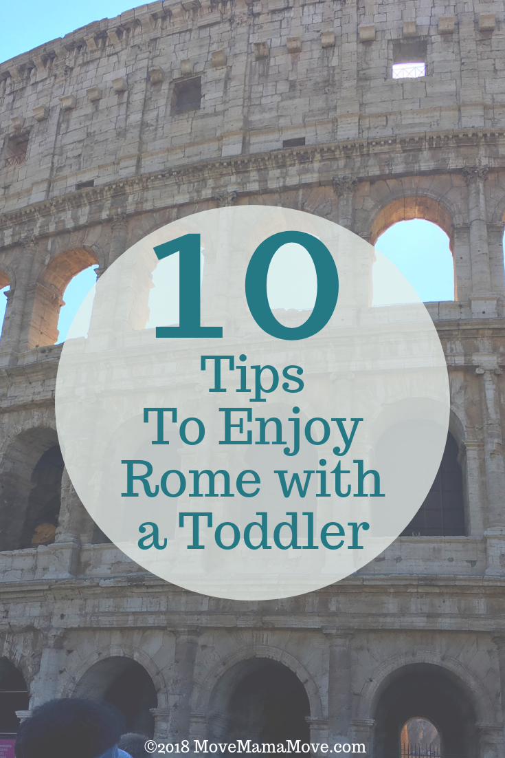 Rome with a Toddler