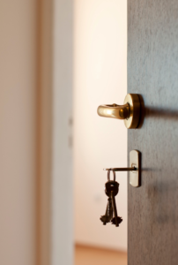 Keyhole doors