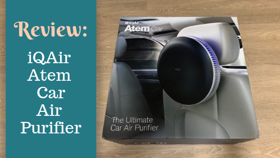 Review:  iQAir Atem Car Air Purifier