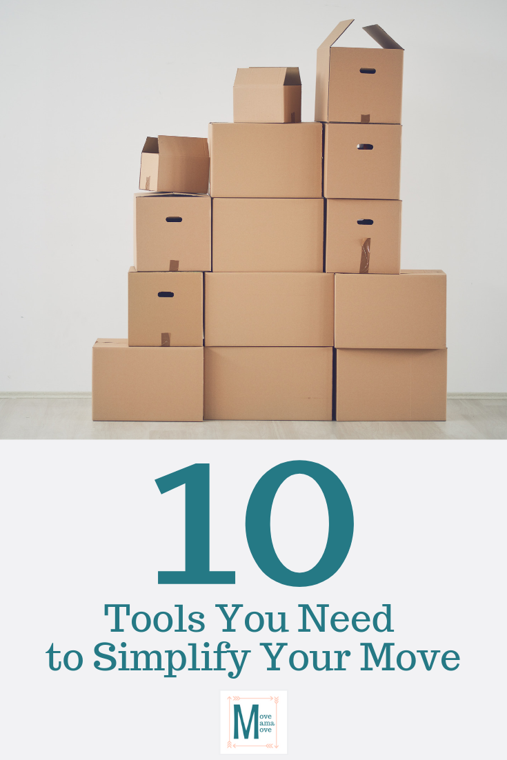 10 Tools You Need to Simplify Your Move