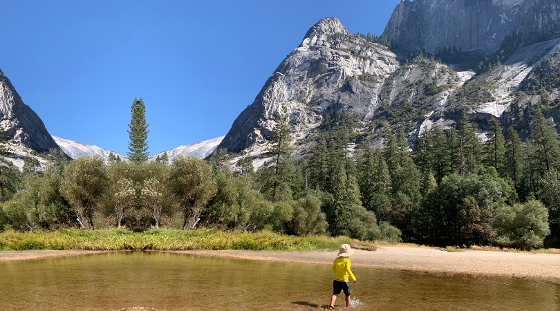 A Weekend in Yosemite, with a Toddler