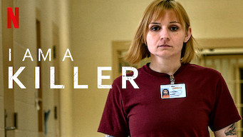 """A female with short blonde hair and bangs with the text overlay """"I Am A Killer"""". The Netflix logo is in the top left corner."""