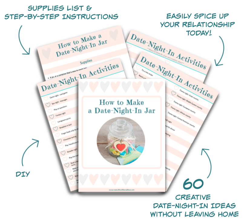 Date Your Partner Without Leaving Home: DIY Date-Night-In Jar