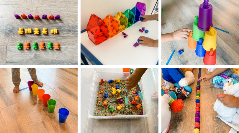 15 Simple Ways to Play with Counting Bears
