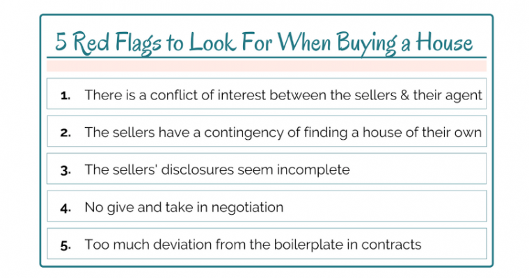 5 Red Flags to Look For When Buying a House: Printout