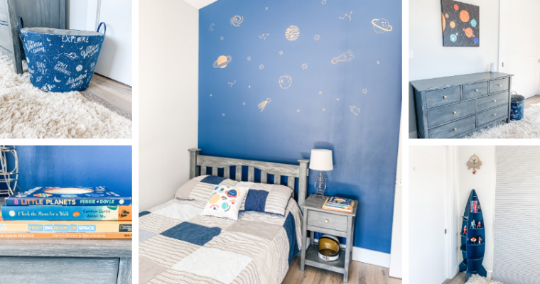 Create an Outer Space-Themed Bedroom Your Toddler Will Love